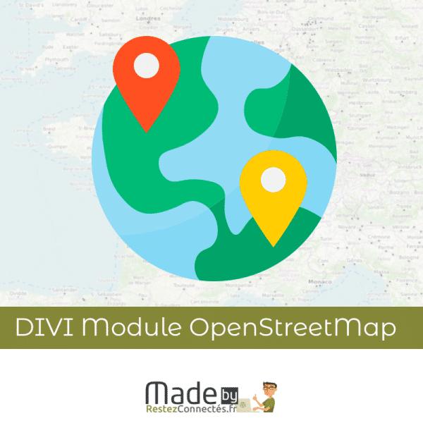 Module Divi OpenSteetMap