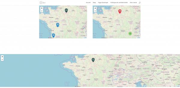 Module DIVI OpenStreet Map